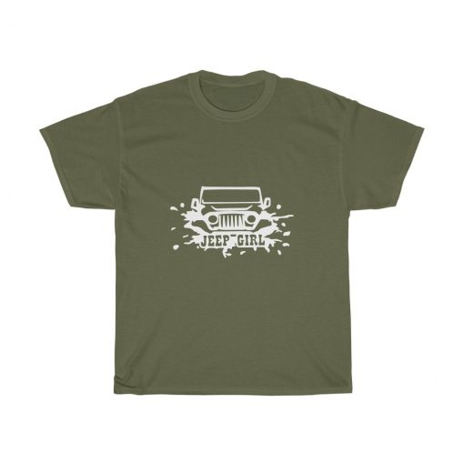 Jeep girl t-shirt for her