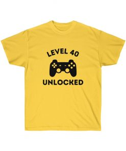 Level 40 unlocked t-shirt