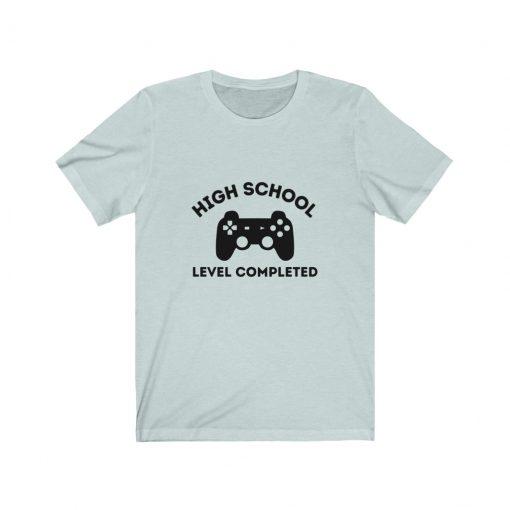 High School Completed Graduation T-Shirt