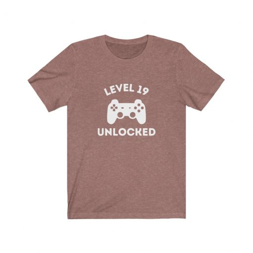 Level 19 Unlocked T-Shirt for him