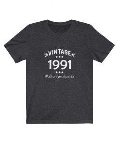 Vintage 1991 Birthday
