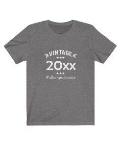 Personalized Birthday Year Vintage Shirt