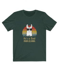 Papa Llama Shirt
