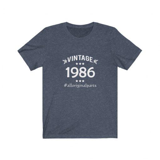 Vintage 1986 Birthday