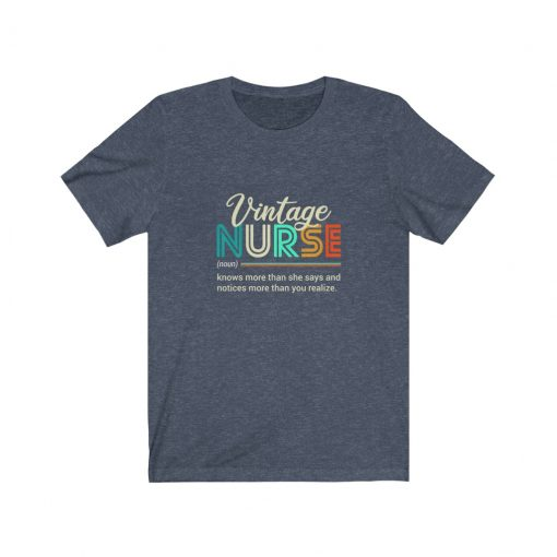 Vintage Nurse T-Shirt for her birthday Gift