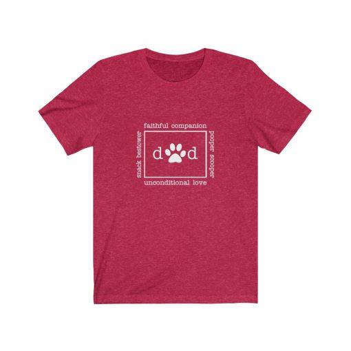 Dog Lover Dad T Shirt