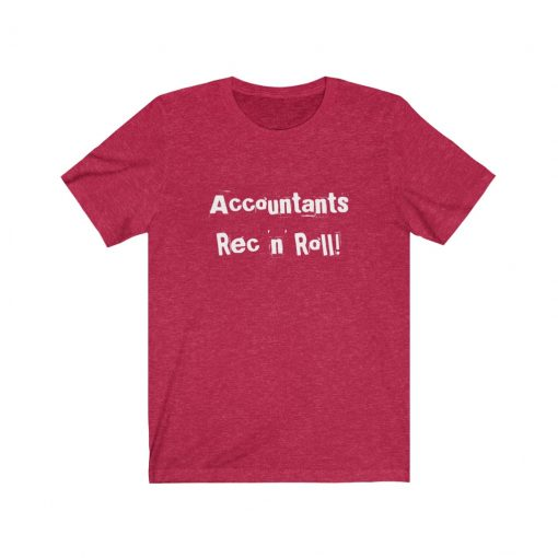 Accountant rec and roll T-Shirt