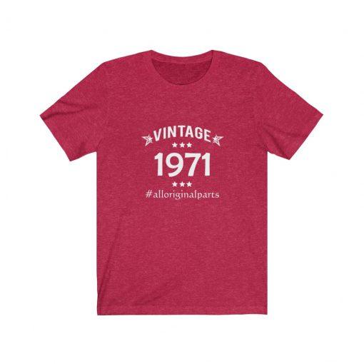 Vintage 1971 Birthday