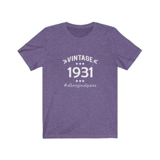 Vintage 1931 Birthday