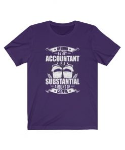 Accountant and coffee Funny t-shirt
