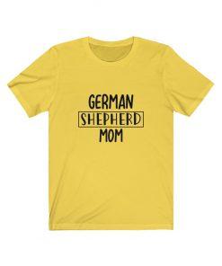 German shepherd mom shirt