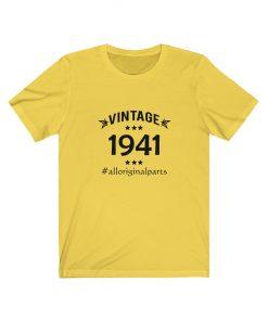 Vintage 1941 Birthday