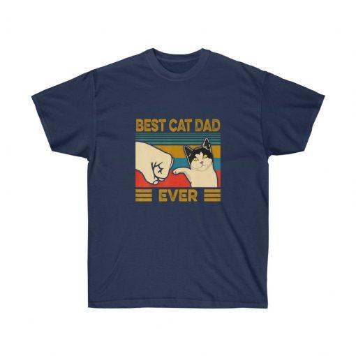 Best cat dad ever t shirt