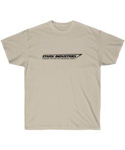 Iron Man Tony Howard Stark Industries T-Shirt