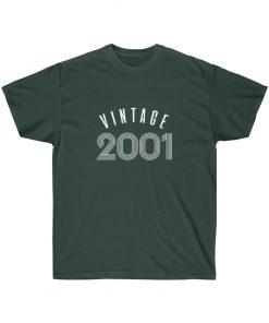 Custom 2001 Vintage birthday