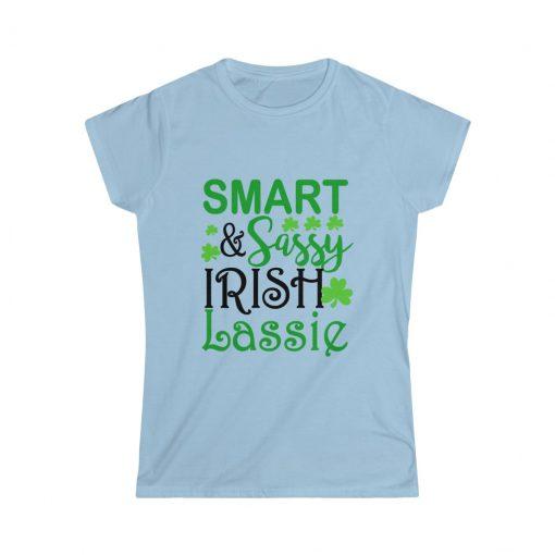 Smart Sassy Irish Lassie T-Shirt