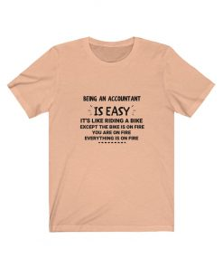 Being an accountant is easy t-shirt