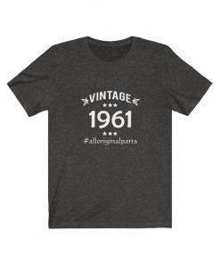 Vintage 1961 Birthday