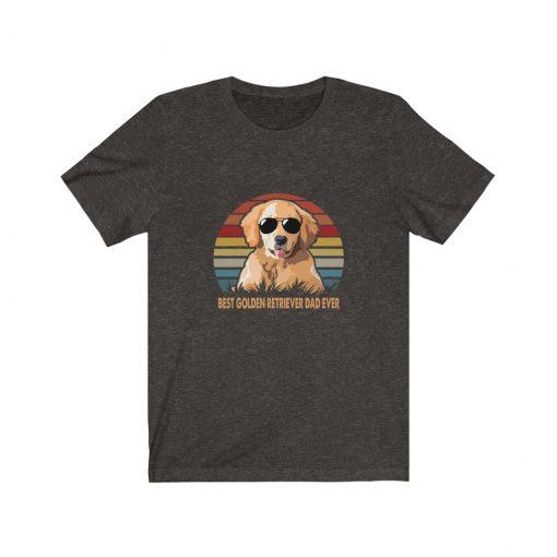 Best Golden Retriever Dad Ever T-Shirt