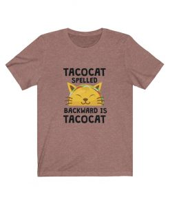 Tacocat Spelled Funny Cat T-Shirt