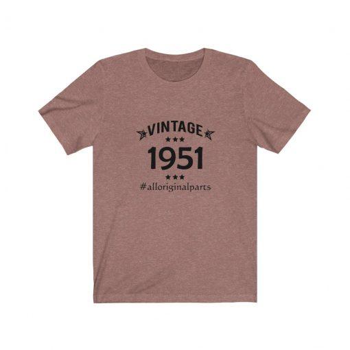 Vintage 1951 Birthday