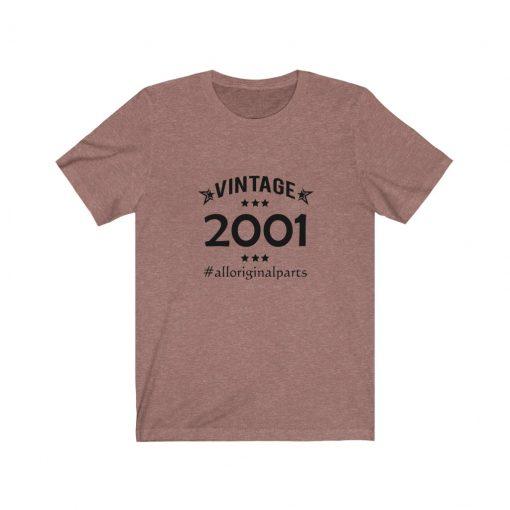 Vintage 2001 Birthday