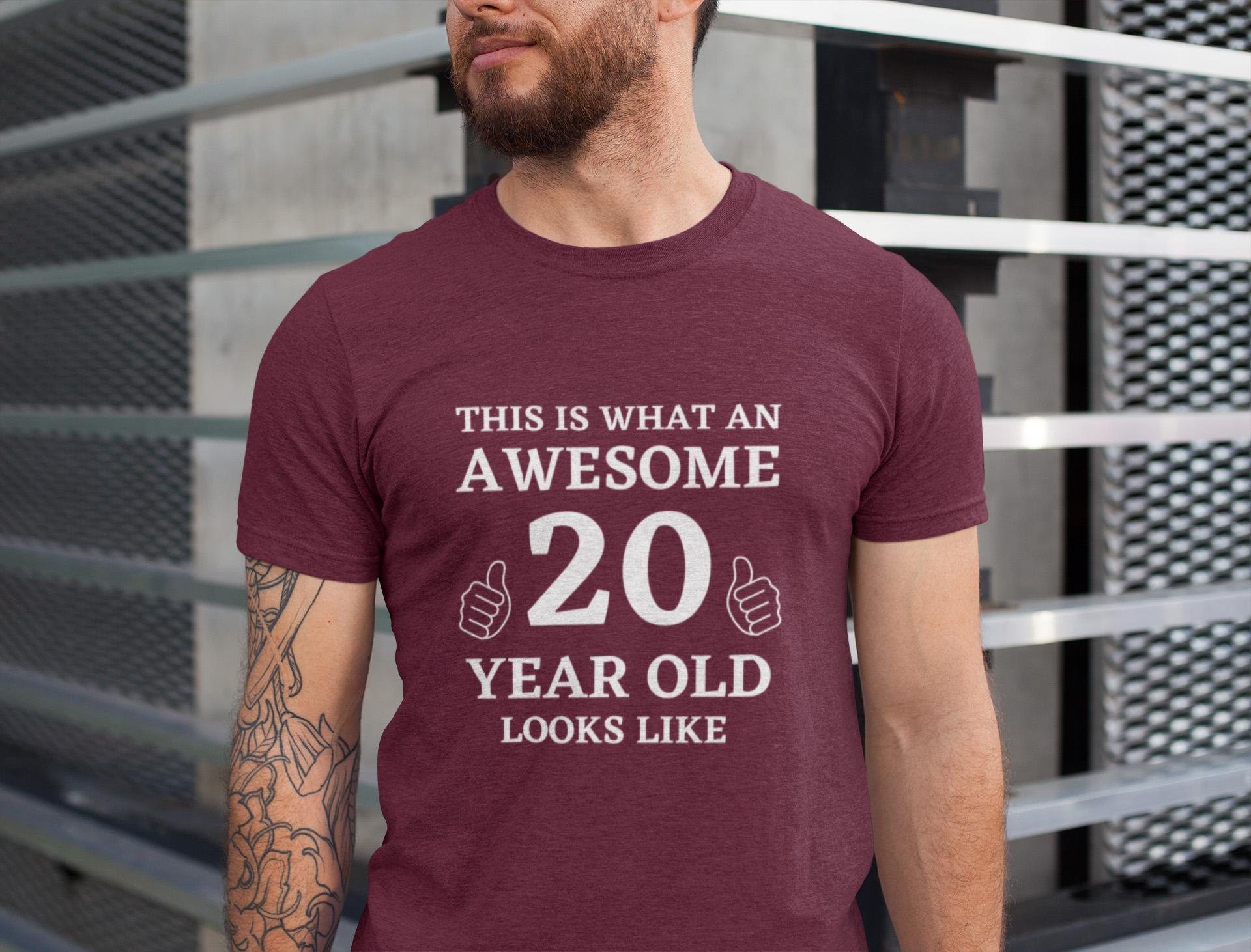 20th Birthday Shirt